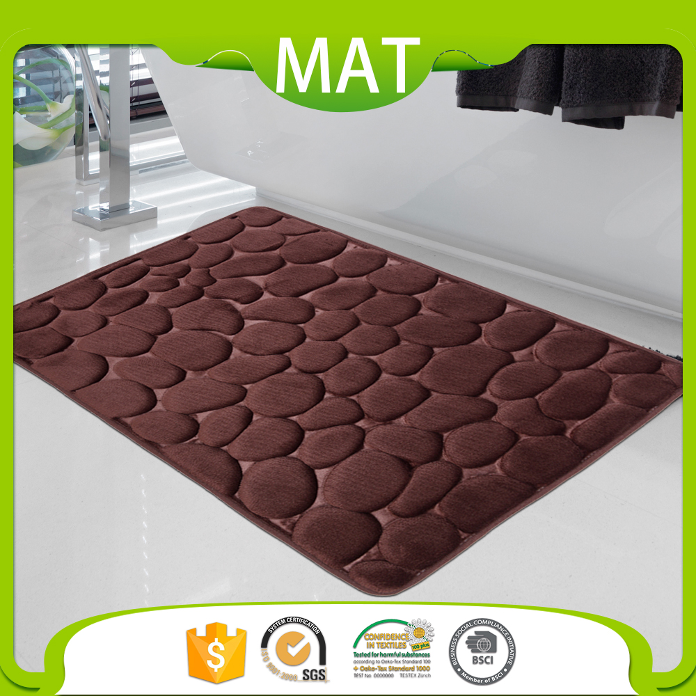 Clearance Water Absorbent Bath Rugs 17X24 Without Rubber Backing