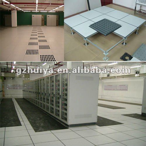 Computer room HPL raised access flooring design for various of building use