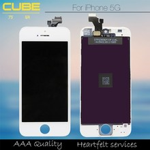 Mobile phone parts for iphone 5 screen and digitizer oem,display high quality for iphone 5 display,lcd