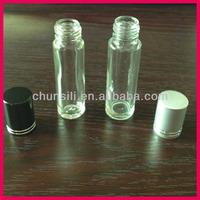 10 ml repeated use factory wholesale glass empty lip balm tubes uk