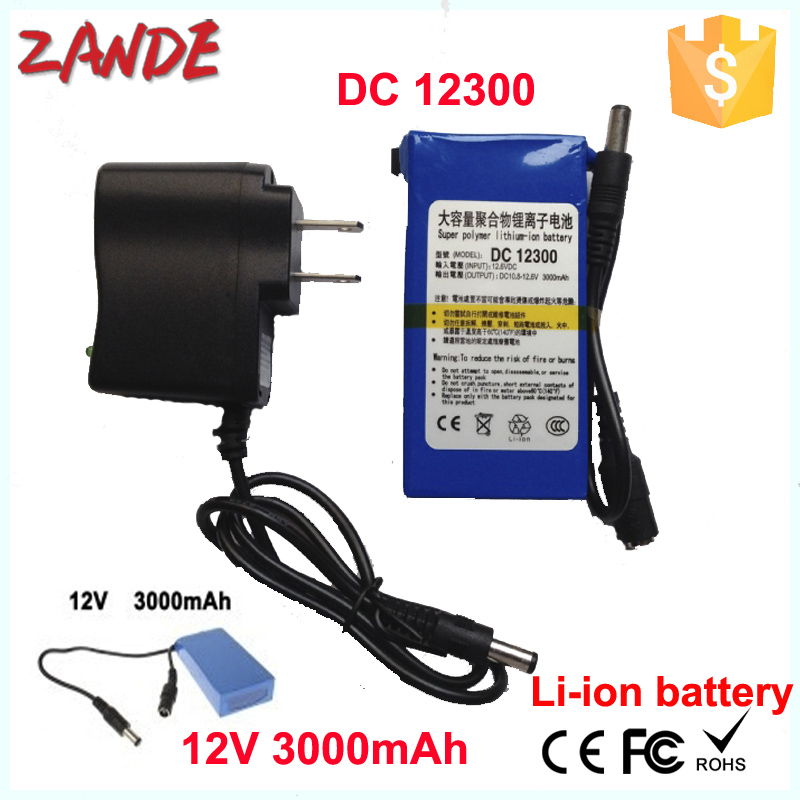 12V rechargeable super mini battery supplier made in China Shenzhen