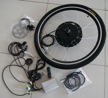 Electric bicycle conversion kit