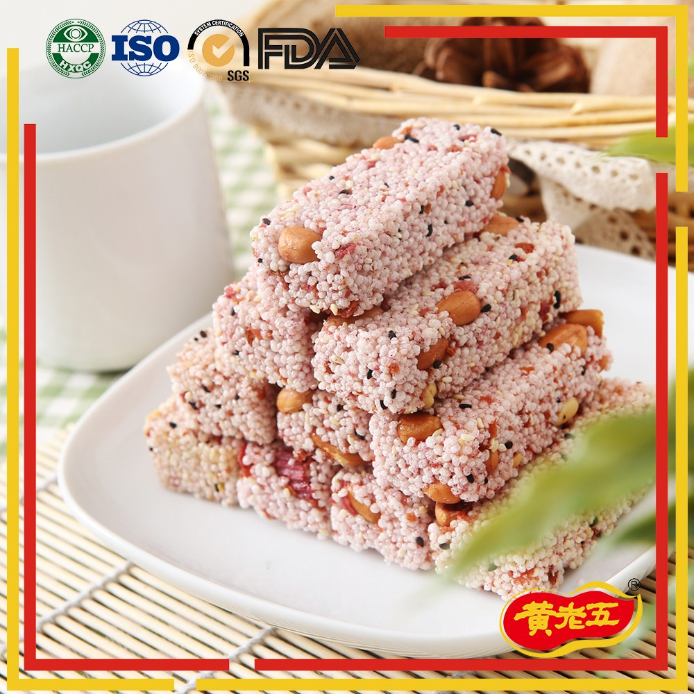 Hot selling China wholesale OEM sweet rice cracker snacks