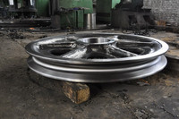 High quality large cast iron flywheel