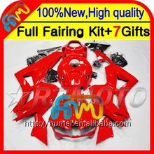 Body ALL Red For HONDA CBR600RR CBR600 RR F5 13 14 28CL32 CBR 600RR 600 RR 2013 2014 Injection 13-14 Fairing Gloss red stock
