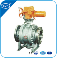 Whole sale price DIN ANSI standard WCB body PTFE seat electric actuator ball valve