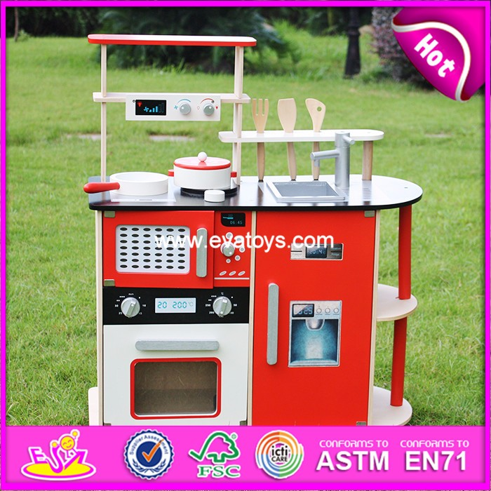 2018 kids Wooden Kitchen toy,children Wooden kitchen toy set