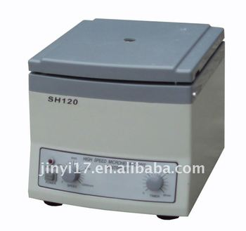 SH120 Tabletop High Speed Laboratory Medical Centrifuge (CE, ISO13485)