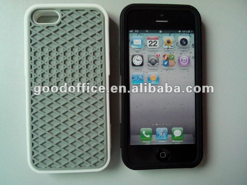 (GD-08) Factory eco-friendly 100% silicon mobile phone cover