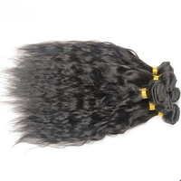 virgin brazilian hair 3 bundles to make a full head, gorgeous natural wave brazilian hair