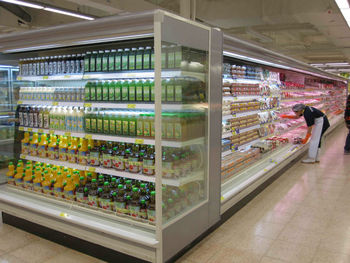 Multideck Supermarket Refrigerator with LED light-E6GuangPing