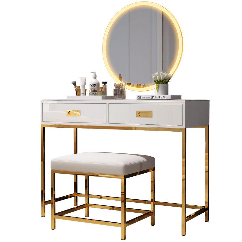 Vanity Set With Lighted Mirror Makeup Dressing Table Dresser Desk For  Bedroom , Buy Dresser With Mirror And Lights,Dressing Table Mirror With Led