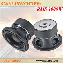 High performance Car Subwoofer 12 inch Black car audio 1000w SPL speakers