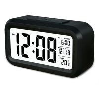 LCD Display Digital Alarm Clock