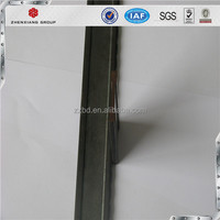 wrought iron holed bar, steel flat I bar profile for grating