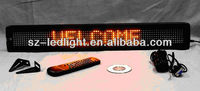 top quality multi-language led message sign for car