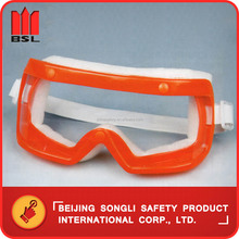 China Hot Selling top quality low price SLO-GB030 industrial working safety protection goggle spectacles glasses