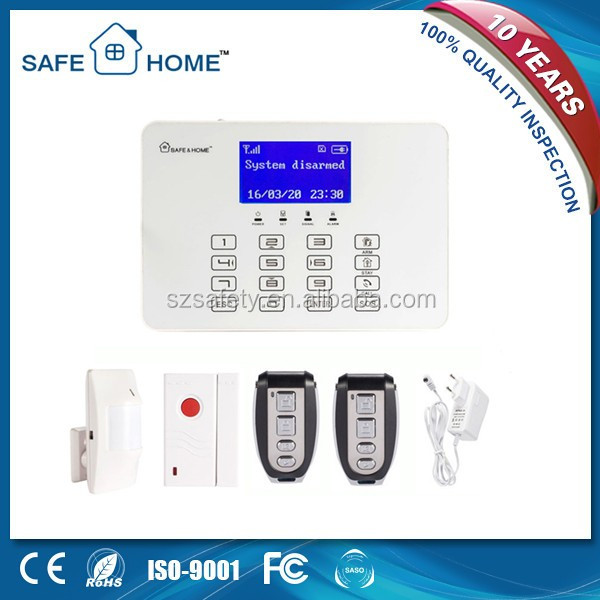 Manufacturing Practical Professional Wireless GSM Security SMS Alarm Device