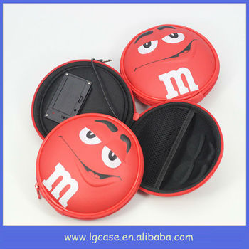 Good quality lovely mini cartoon logo digital speaker case for kids