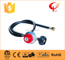 adjustable auto high pressure lpg gas pressure regulator with CSA approved