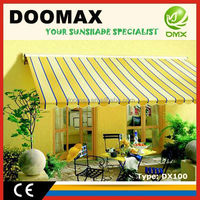 #DX100 Plastic Warehouse Awning Canopy