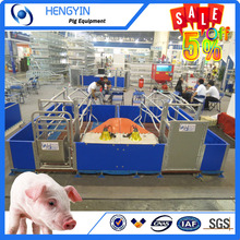 Cost-effective high density plastic flooring for pig farm equipment