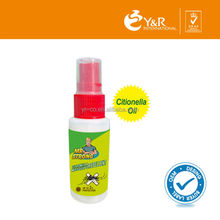 Welcomed natural ingredients insects repellent spray for baby