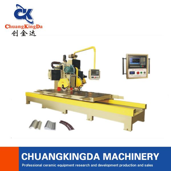 CKD-1100 Setting wall profiling stone line machine stone round edge cutting machine