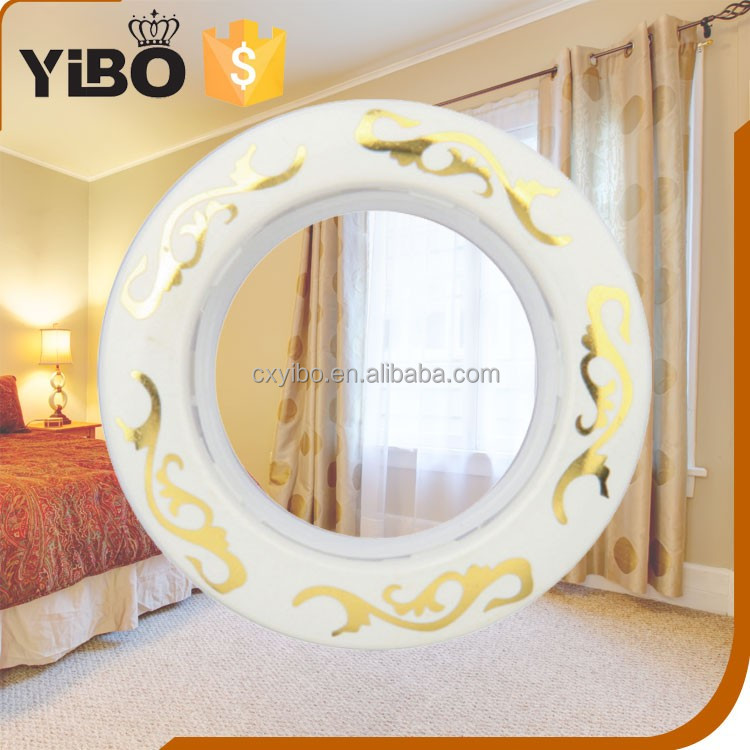 YIBO 628 Beauty decorative designs curtain for plastic curtain eyelet rings