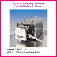 YT600-1J Industrial Big Flow Rate Peristaltic Pump, 600 to 11000 ml/min Flow Rate, 60-600rpm Speed to Be Adjusted