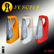 Plastic JYSUPER torch led emergency rechargeable lantern camping lamp JY3359