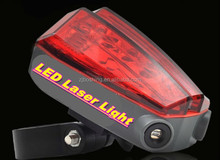 CE ROHS quality led laser tail bicycle rear brake lights rechargeable