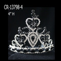 Cheap Wholesale Black Rhinestone Tiaras And Crowns