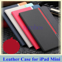 Fashion Smart Flip PU Leather Case Cover Tablets Funda for iPad Mini