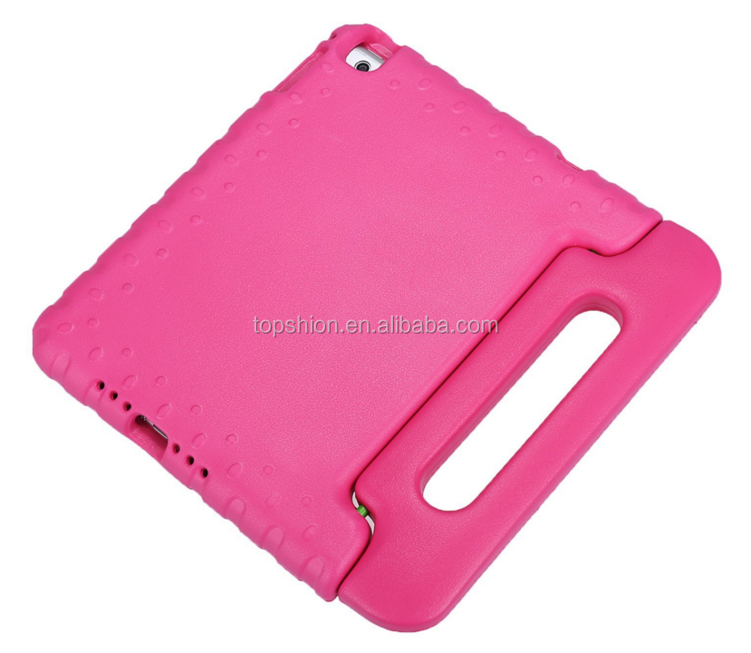 Handle grip design kids safe shock proof eva foam case for ipad mini 2, for iPad mini2 case cover