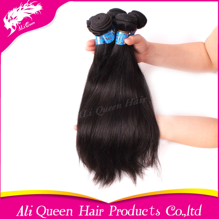 100% raw unprocessed straight virgin peruvian hair