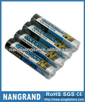 r03 battery size aaa um4 1.5v first power battery