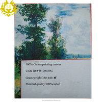 100% cotton painting canvas for handpainted painting