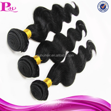 natural color can be dye human hair attachment and weaving