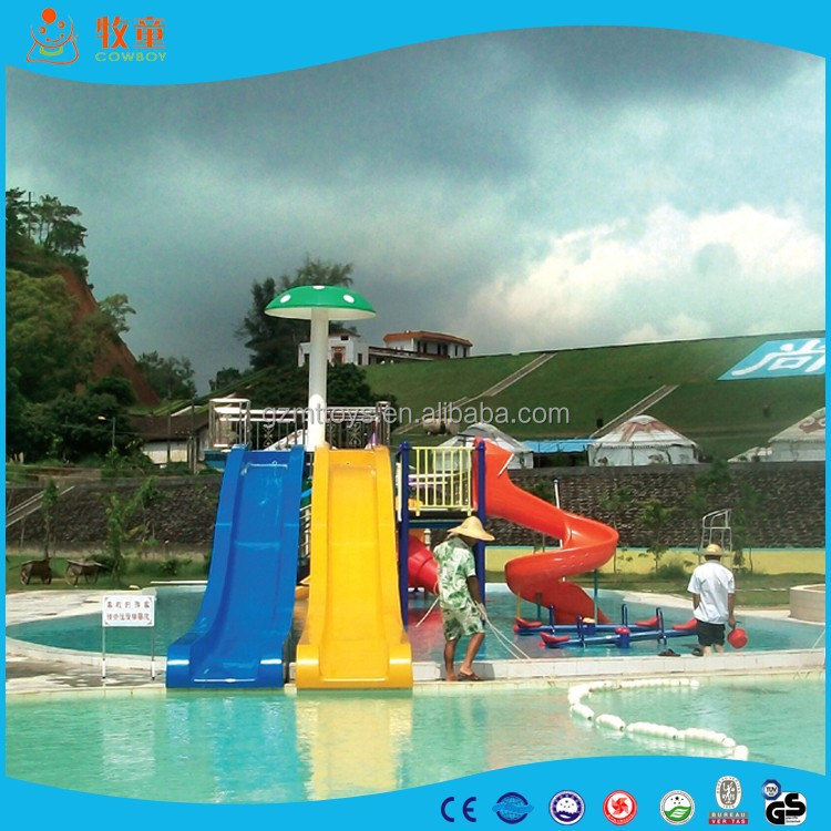 Cowboy Brand Amusement Park Water Slides for Sale free design