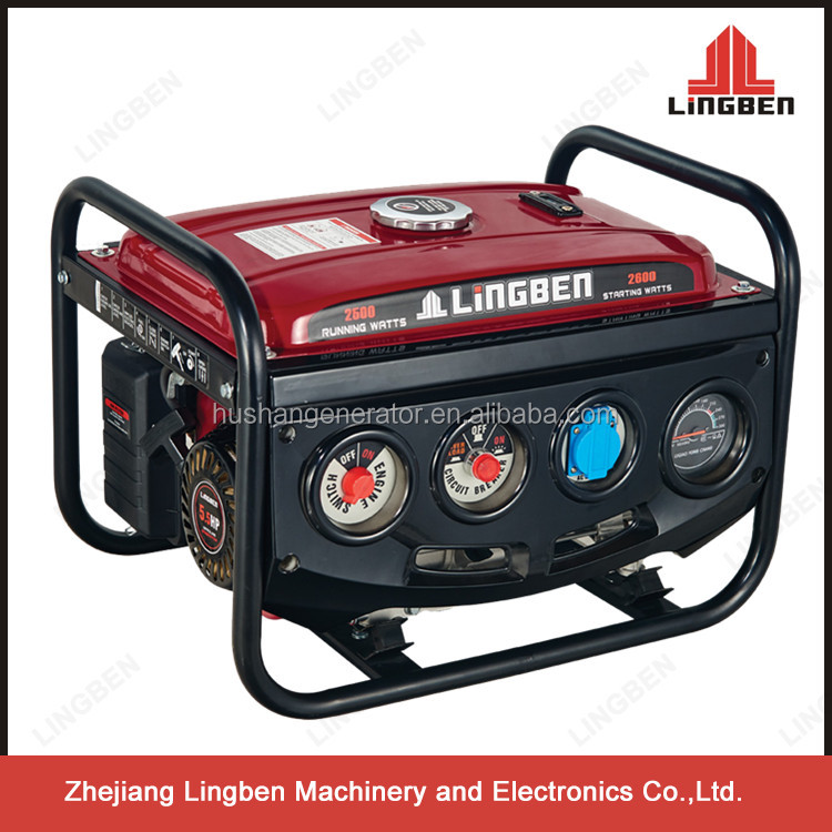 Lingben zongshen gasoline generators for sale LB2600DXE-B1