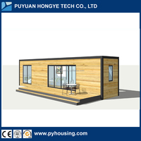 2017 New Design One Bedroom One Living Room 40FT Luxury Mobile Container Home