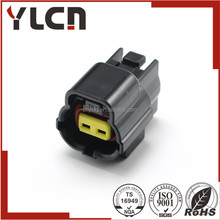YLCN Free samples black amp connector female seal waterproof tyco alternative connector