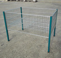 wire mesh promotion table for supermarket