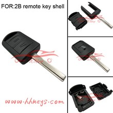 China 2 buttons blade HU43 Vauxhall Opel fake key fob for Opel Combo Meriva key fob
