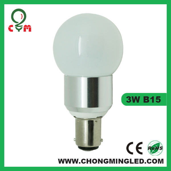 dimmable ba15d led lamp