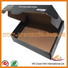 Folded printing corrugated paper box
