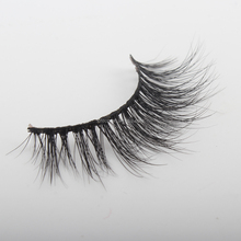 Fluffy Real Mink Lashes Hand Made 3D Mink Eyelashes