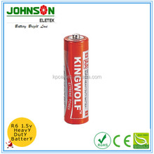 r6p aa um3 1.5v carbon zinc battery, um3 r6p super heavy duty battery for mp3 player
