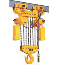 Electric chain hoist with remote controller